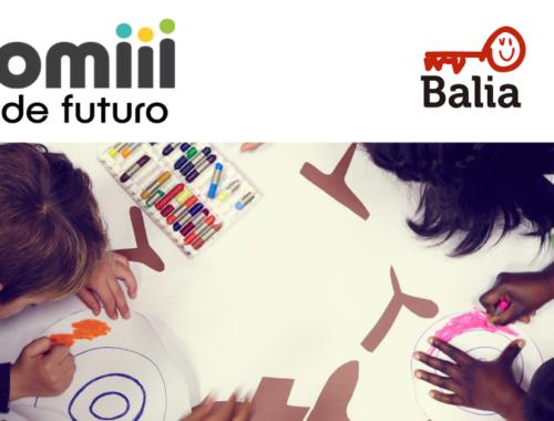 Homiii y Fundacion Balia: 1€ de futuro para ayudar a la educación de los que tienen menos recursos